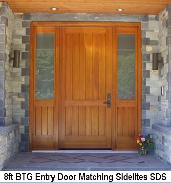 8ft Entry Door Matching Sidelites