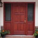 Raised Panel Entry Door Matching Sidelites