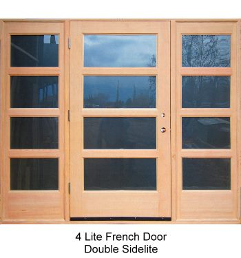 4 Lite French Door Double Sidelite