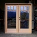 3 Lite Double French Doors